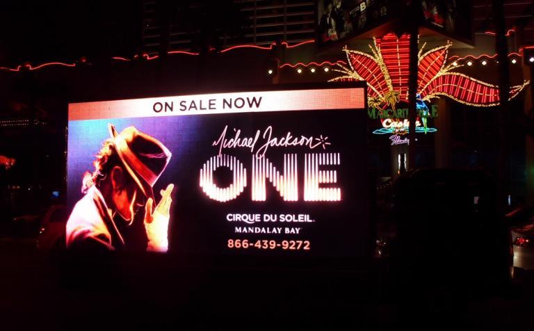 Michael Jackson ONE on the Las Vegas Strip