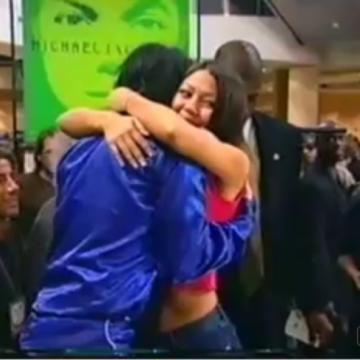 Big warm hug from Michael