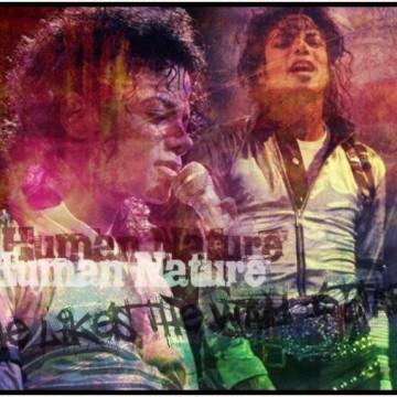 Michael Jackson BAD Tour(Human Nature) Signature I made.