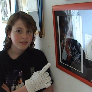 Me With My MJ Autograph