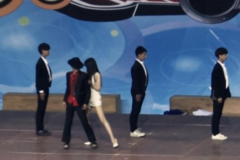 I'm dancing video screenshot
