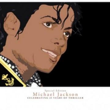 Michael Jackson Vector Illustration – Celebrating Thriller 25 (taken from the Thriller Celebration Party back in the 80s)