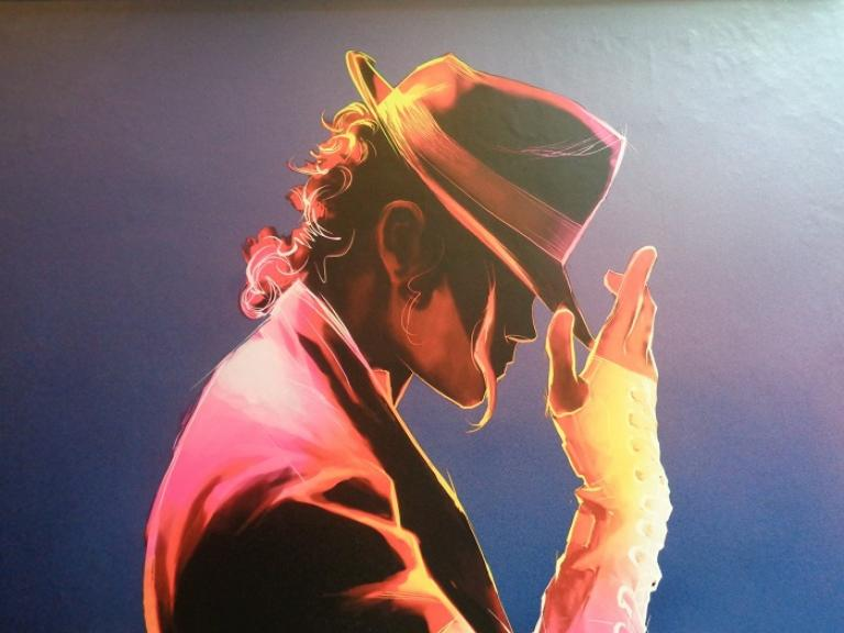 #MJONE Michael Jackson ONE enlarged