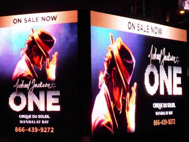 Michael Jackson ONE at the Las Vegas Strip