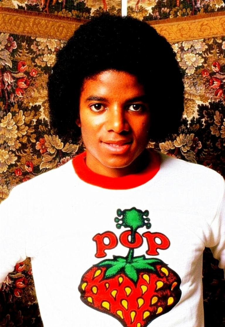 14bec505 Women's Michael Jackson Plus Size King of Pop Short Sleeve Cropped Graphic T -Shirt (Juniors') Black