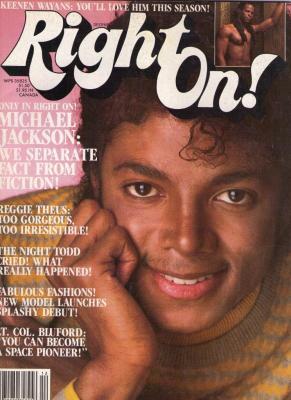 A címlapon Michael Jackson