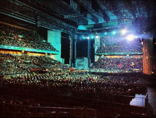 Michael Jackson The Immortal World Tour marca un récord de público