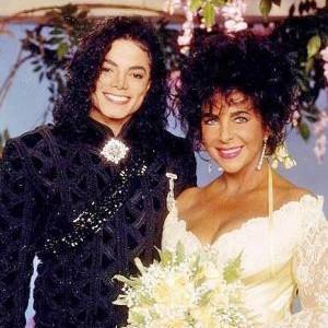 Elizabeth Taylor & Michael Jackson Photos