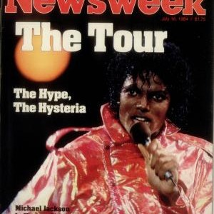 Michael Jackson In Newsweek 1984