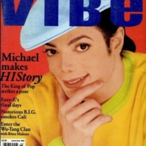 MJ On The Cover Of Vibe Magazine, 1995
