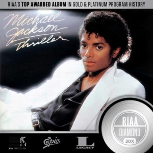 Michael Jackson's 'Thriller' First Ever 30X Multi-Platinum RIAA Certification