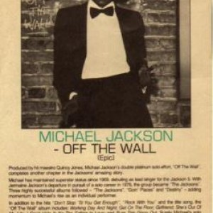 #TBT: ANYONE REMEMBER THIS AD FOR OFF THE WALL?