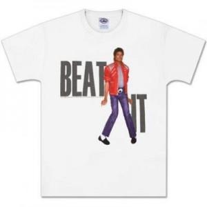 """Les T-shirts Michael Jackson """"Beat It"""" sont de retour !"""