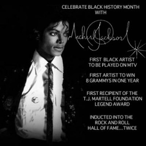 Celebrate Black History Month with Michael Jackson