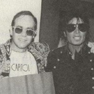 Friendly Friday: Michael Jackson and Elton John