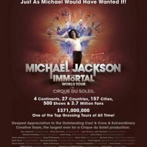 Michael Jackson The Immortal World Tour History Making, Record Breaking Run!