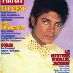 Michael Jackson a címlapon