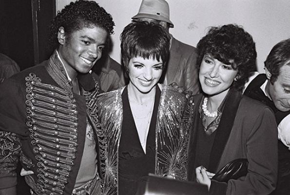Michael Jackson with Liza Minnelli