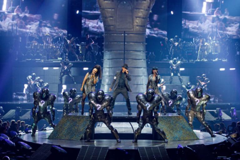 Michael Jackson THE IMMORTAL World Tour at MSG