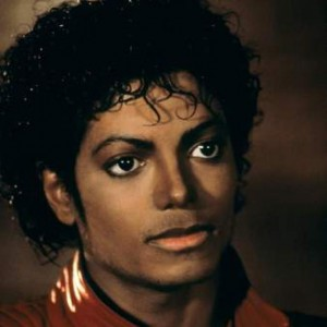 Michael Jackson 'Thriller' Short Film Red Leather Jacket