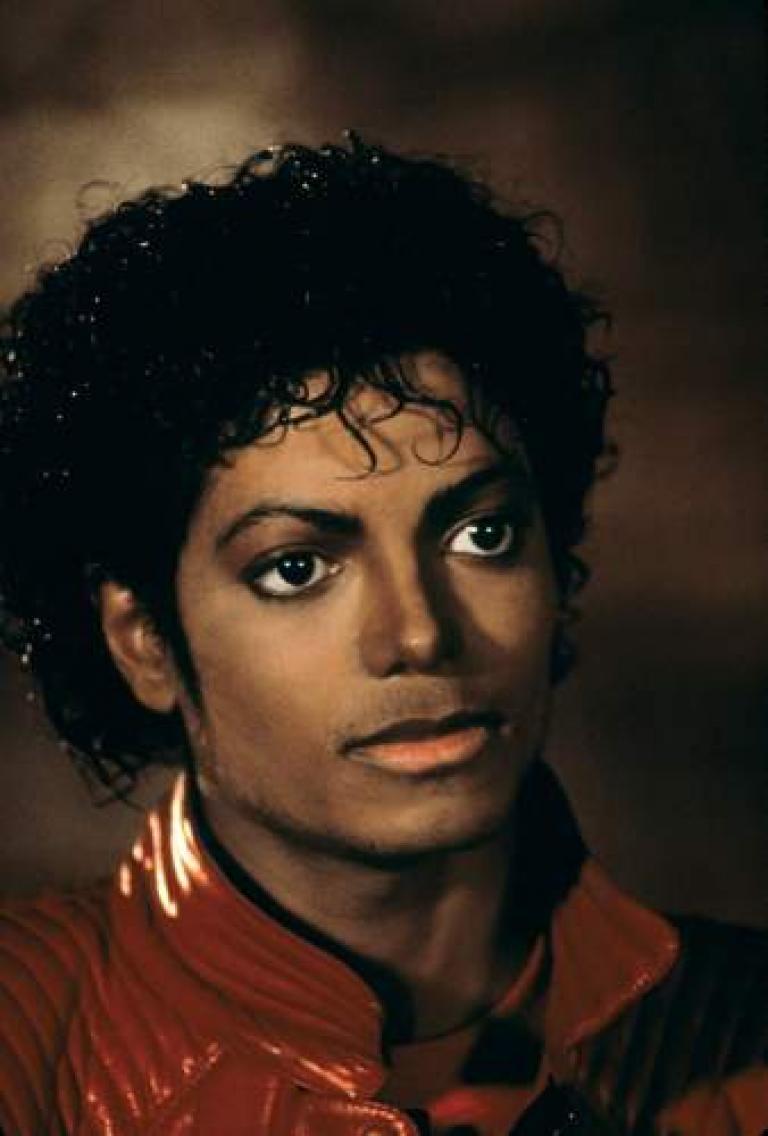 Michael Jackson 'Thriller' Short Film Red Leather Jacket