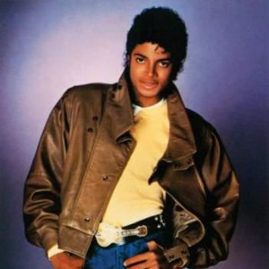Michael Jackson 'Thriller' Press Photo
