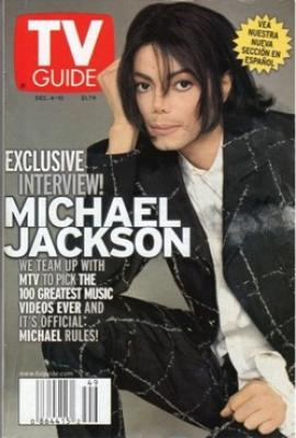 michael tv guide cover michael jackson official site rh michaeljackson com Classic TV Guide Channel Listings TV Guide Listings Today