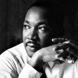 "Martin Luther King, Jr.'s famous ""I Have A Dream"" speech in ""HIStory"""