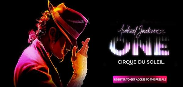 Just for fans: Pre-sale of tickets for Michael Jackson ONE available for Newsletter subscribers