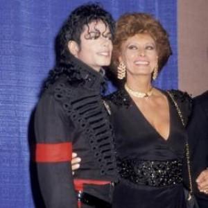 Friendly Friday: Michael Jackson and Sophia Loren