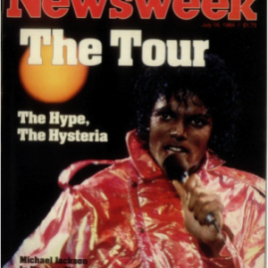 Michael Madness: Newsweek Magazine July 1984