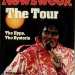 Michael Madness: Newsweek Magazine July 1984