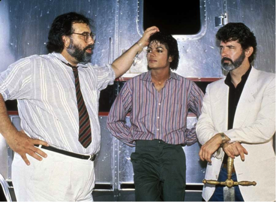 Photo of the Day: Michael Jackson, George Lucas and Francis Ford Coppola