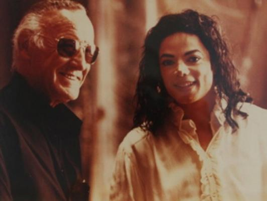 Friendly Friday: Michael Jackson And Stan Lee