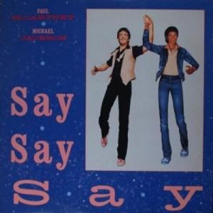 'Say Say Say' #1 In 1983