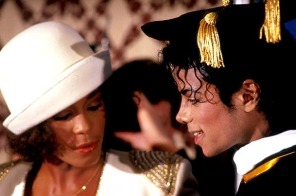 Photo of the Day: Michael Jackson and Whitney Houston 1988