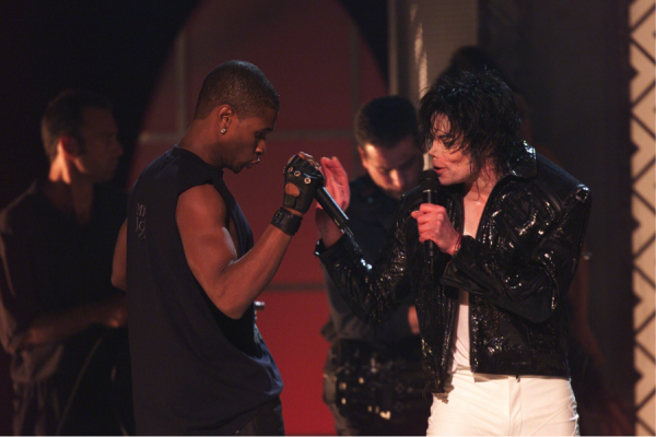 MJ History: You Rock My World performance featuring Usher