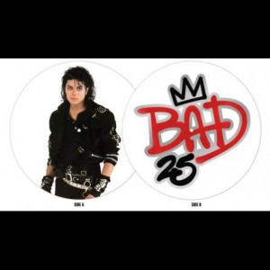 BAD – 25TH ANNIVERSARY (PICTURE VINYL)
