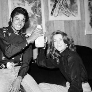 Friendly Friday: Michael Jackson and Jane Fonda