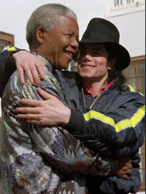 Michael Jackson was proud to call Nelson Mandela his friend
