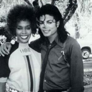 Michael and Whitney Houston
