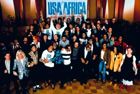 MJ History: We Are The World
