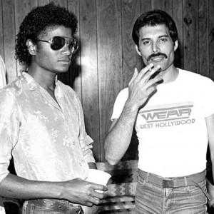 Michael and Freddie Mercury