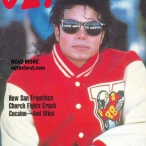 Michael on Jet Magazine in May 1988