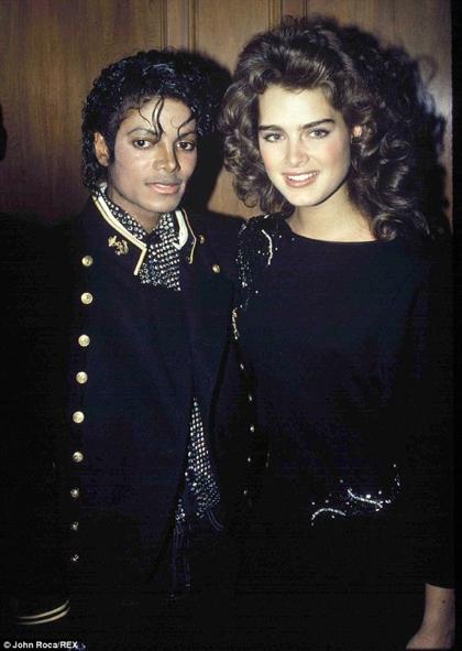 #FlashbackFriday: Michael with Brooke Shields