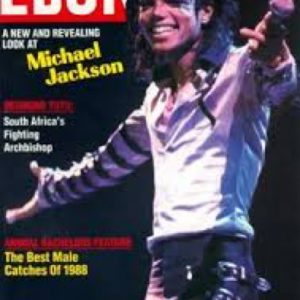 Michael on Ebony Magazine in 1988