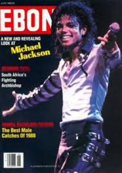 Michael on Ebony Magazine in 1988