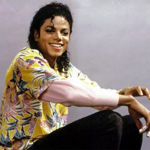 MJ On The 'Leave Me Alone' Video Shoot