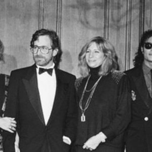 #FriendlyFriday: Michael Jackson with Amy Irving, Steven Spielberg & Barbra Streisand