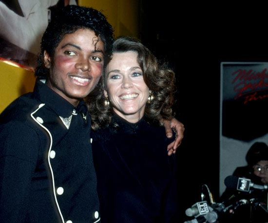 #FriendlyFriday: Michael Jackson and Jane Fonda